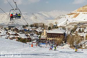 Station de ski de Mzaar Kfardebian (Mzaar Ski Resort), Mzaar Kfardebian, Mont-Liban, Liban, Mont-Liban, Liban