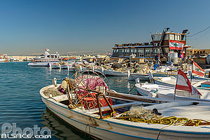 Photo : Port de pêche de Tyr, Tyr (Sour), Liban-Sud, Liban