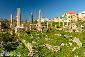 Cathédrale des Croisés, Site d'Al Mina, Ville antique de Tyr, Liban-Sud, Liban, Liban-Sud, Liban