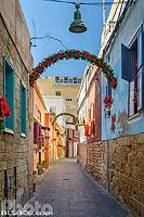 Ruelle dans la vieille ville de Tyr, Tyr (Sour), Liban-Sud, Liban, Liban-Sud, Liban