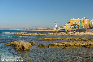 Photo : Phare de Tyr (Al Fanar), Tyr (Sour), Liban-Sud, Liban