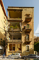Photo : Immeuble rue Iben Rouchoud, Moussaitbé, Beyrouth, Liban