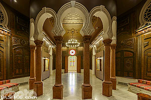 Photo : Salon Arabe du Musée Sursock, Remeil, Beyrouth, Liban, Beyrouth, Liban