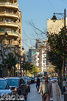 Photo : Rue Hamra, Ras Beyrouth, Beyrouth, Liban