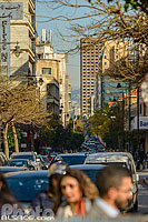 Photo : Circulation automobile rue Hamra, Ras Beyrouth, Beyrouth, Liban