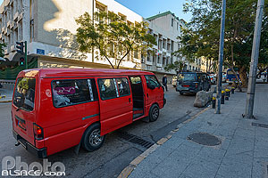 Minibus de la ligne 4, Rue de Rome, Ras Beyrouth, Beyrouth, Liban, Beyrouth, Liban