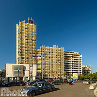 Photo : Immeuble Concorde, Rue Dunant, Ras Beyrouth, Beyrouth, Liban