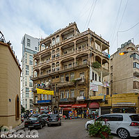 Photo : Immeuble Mekkaoui, Rue Amine Beyhum, Zokak El-Blat, Beyrouth, Liban