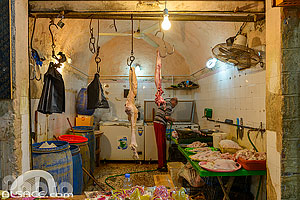 Photo : Boucher dans le Souk de Tyr, Tyr (Sour), Liban-Sud, Liban