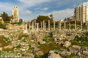 Photo : Martyrium, Site d'Al Mina, Ville antique de Tyr, Tyr (Sour), Liban-Sud, Liban