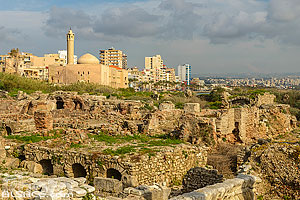 Photo : Site d'Al Mina, Ville antique de Tyr, Tyr (Sour), Liban-Sud, Liban