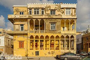 Maison traditionnelle en bord de mer à Tyr, Tyr (Sour), Liban-Sud, Liban, Liban-Sud, Liban