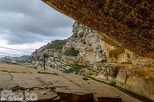 Forteresse de Niha (ou Caves de Tyron) dans la région du Chouf, Niha, Mont-Liban, Liban, Mont-Liban, Liban
