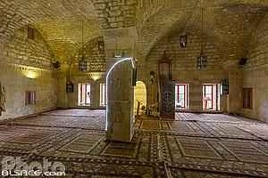 Intérieur de la mosquée Fakhreddine, Deir-el-Qamar, Région du Chouf, Mont-Liban, Liban, Mont-Liban, Liban