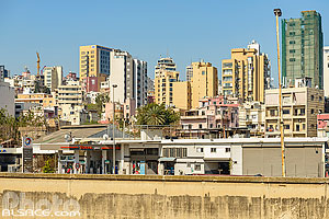Photo : Immeubles de Beyrouth Est (Geitawi), Remeil, Beyrouth, Liban, Beyrouth, Liban