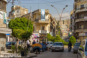 Photo : Rue de Tripoli, Liban-Nord, Liban