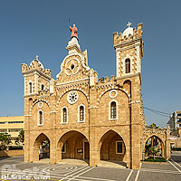 Photo : Cathédrale maronite Saint-Etienne (Mar Estephan), Batroun, Liban-Nord, Liban