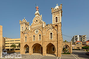 Cathédrale maronite Saint-Etienne (Mar Estephan), Batroun, Liban-Nord, Liban