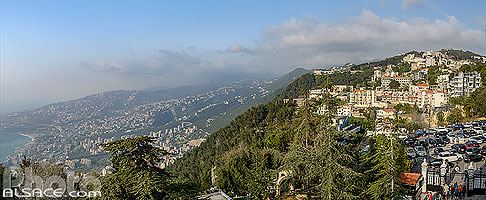 Photo : Harissa, Mont-Liban, Liban