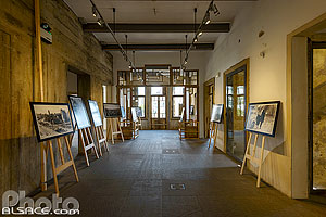 Photo : Exposition photos dans la Maison Jaune (Beit Beirut), Sodeco, Achrafieh, Beyrouth, Liban, Beyrouth, Liban