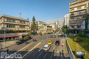 Photo : Rue Sagesse et rue Charles Malek, Remeil, Beyrouth, Liban, Beyrouth, Liban