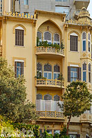 Photo : Immeuble traditionnel, Jounblat, Ras Beyrouth, Beyrouth, Liban