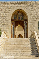 Photo : Monastère orthodoxe Notre-Dame-de-Nourieh (Our Lady of Nourieh Monastery), Hamat, Liban-Nord, Liban