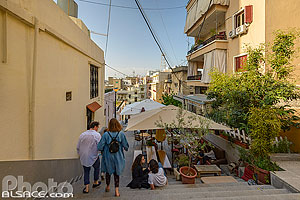 Photo : Escalier entre Mar Mikhael et Achrafieh (Vendome Stairs), Rue Younes Gebayli, Geitawi, Remeil, Beyrouth, Liban