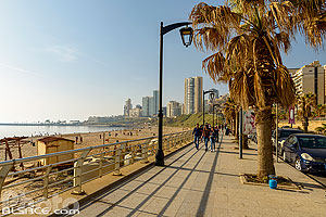 Photo : Plage publique de Ramleh Al Bayda, Unesco, Moussaitbé, Beyrouth, Liban