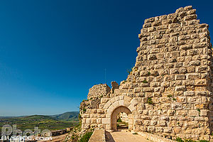 Photo : Forteresse de Beaufort (Château de Beaufort ou Qala'at ash-Shqif), Arnoun, Nabatieh, Liban