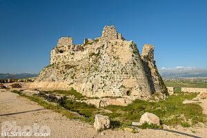 Forteresse de Beaufort (Château de Beaufort ou Qala'at ash-Shqif), Arnoun, Nabatieh, Liban, Nabatieh, Liban