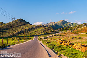 Route Jezzine-Nabatiyeh, Kfar Houneh, Liban-Sud, Liban, Liban-Sud, Liban