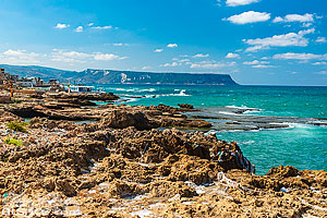 Photo : Littoral de Enfeh, Liban-Nord, Liban