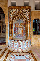 Photo : Palais de Beiteddine, Beiteddine, Mont-Liban, Liban, Mont-Liban, Liban