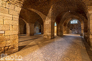 Photo : Mosaïques byzantines du Palais de Beiteddine, Beiteddine, Mont-Liban, Liban
