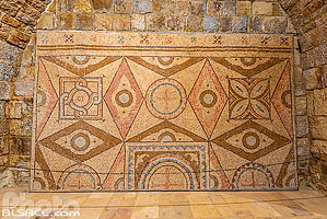 Photo : Mosaïques byzantines du Palais de Beiteddine, Beiteddine, Mont-Liban, Liban, Mont-Liban, Liban