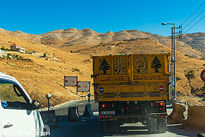 Photo : Route Beyrouth-Damas, Wadi El Doum, Bekaa, Liban