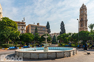Photo : Al Manchieh Park et Horloge Sultan Abdul Hamid, Tripoli, Liban-Nord, Liban