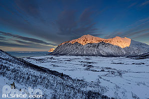 Photo : Ballesvika, Senja, Troms, Norvège