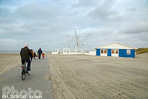 Photo : Plage de Hoek van Holland, Rotterdam, Zuid-Holland, Pays-Bas