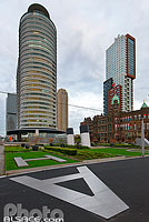 World Port Center, Wilhelminapier, Rotterdam, Zuid-Holland, Pays-Bas