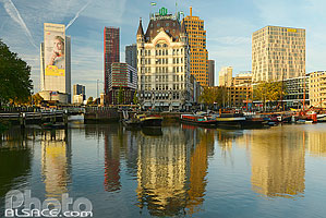 Witte Huis, Oude Haven (Vieux Port), Rotterdam, Zuid-Holland, Pays-Bas