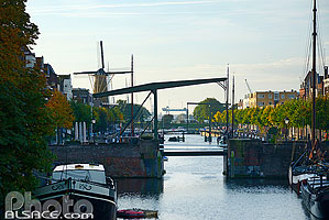 Photo : Delfshaven, Rotterdam, Zuid-Holland, Pays-Bas