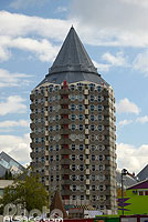 Photo : Immeuble Potlood (Le Crayon), Blaak, Rotterdam, Zuid-Holland, Pays-Bas
