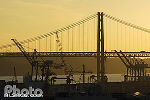 Photo : Ponte 25 de Abril, Lisboa, Portugal