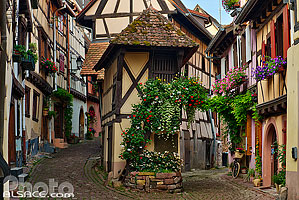 Photos du village de Eguisheim en Alsace