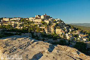 Photos du village de Gordes en Provence-Alpes-Côte-d'Azur