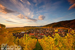 Photos du village de Riquewihr en Alsace
