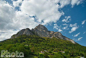 Photo : Le Gonzen, Sargans, St. Gallen, Suisse