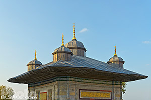 Photo : Fontaine d'Ahmed III, Fatih, Istanbul, Turquie